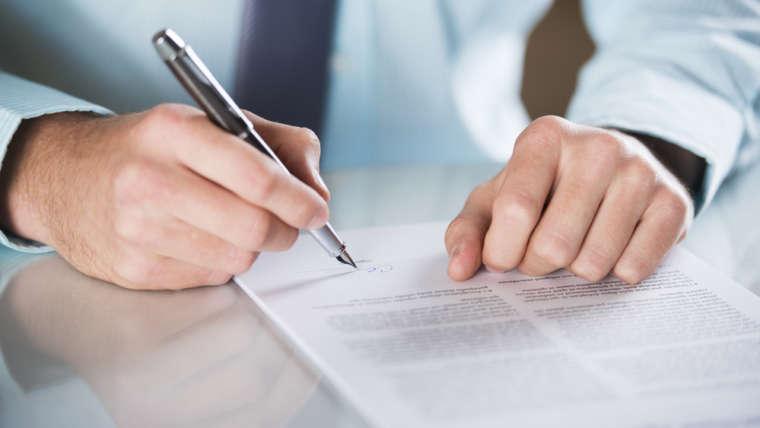 Overdracht Contract in- en Verkoop Besluit Contractbreuk